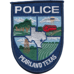 pearland police department texas