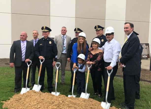 Ground Breaking Ceremony for Pearland Officers Memorial Garden