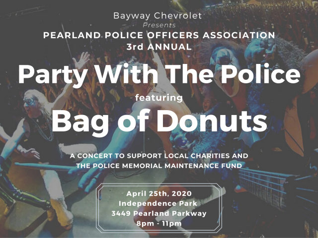 3rd Annual Party With The Police feat. Bag Of Donuts